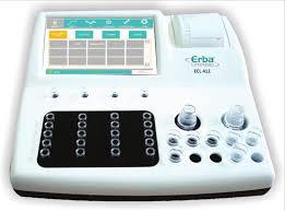 Máy xét nghiệm đông máu bán tự động 4 kênh - Erba Đức