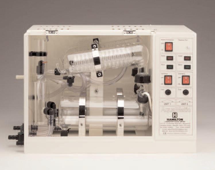 Máy cất nước 2 lần WSC/4D | double water still | may cat nuoc 2 lan