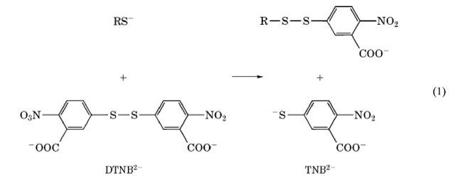 55′-Dithiobis2-nitrobenzoic-acid
