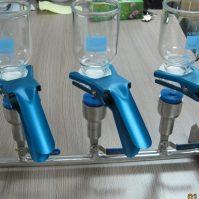 Bộ lọc chân không 3 vị trí bằng thủy tinh hoặc nhựa