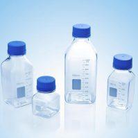 Chai nhựa đựng môi trường